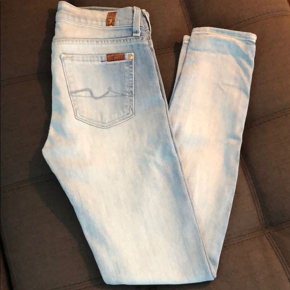 7 For All Mankind Denim - 7 For All Mankind The Skinny jean!